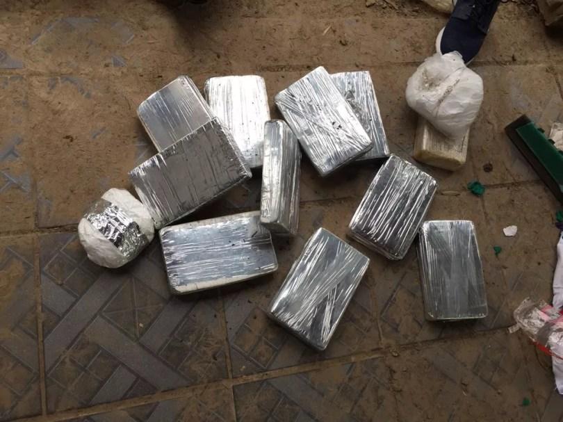 Drogas foram encontradas em sítio de Itu (Foto: Polícia Rodoviária/Divulgação )