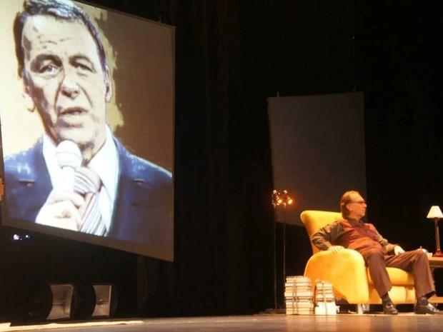 Santos recebe espetáculo teatral 'Encontros Impossíveis' (Foto: Guilherme Costa/Divulgação)