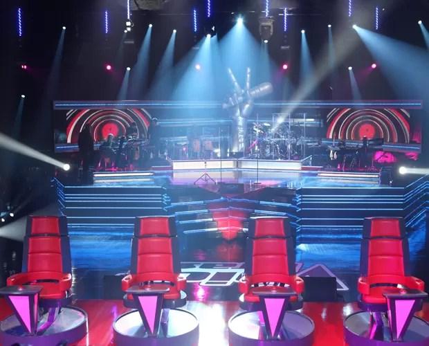 The Voice Brasil Palco (Foto: The Voice Brasil/TV Globo)