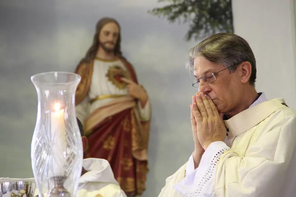 Dom Aldo Pagotto, arcebispo emérito da Paraíba — Foto: Francisco França/Jornal da Paraíba
