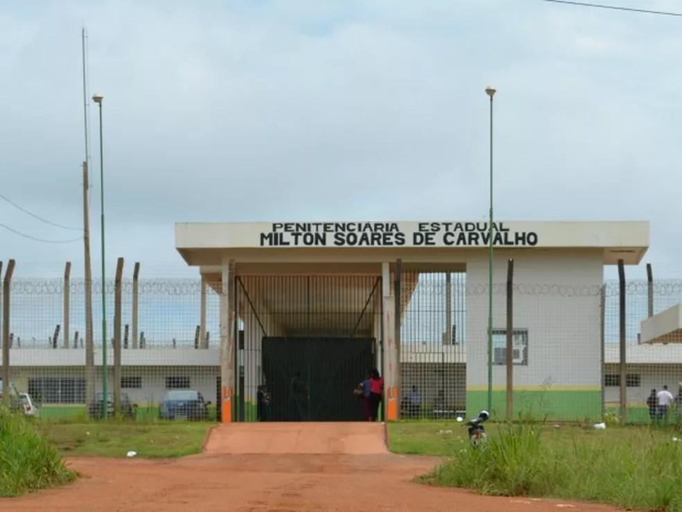 Penitenciária Estadual Milton Soares de Carvalho. — Foto: Hosana Morais/Rede Amazônica