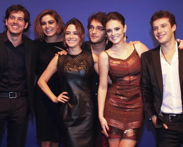 Protagonistas de 'Sangue Bom' vão estar no Domingão (Foto: Divulgação / TV Globo)
