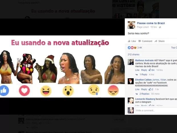 reações facebook 4 (Foto: Reprodução/Facebook)