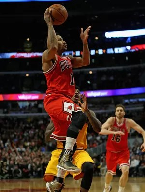 Derrick Rose Cavs x Bulls NBA (Foto: Getty)
