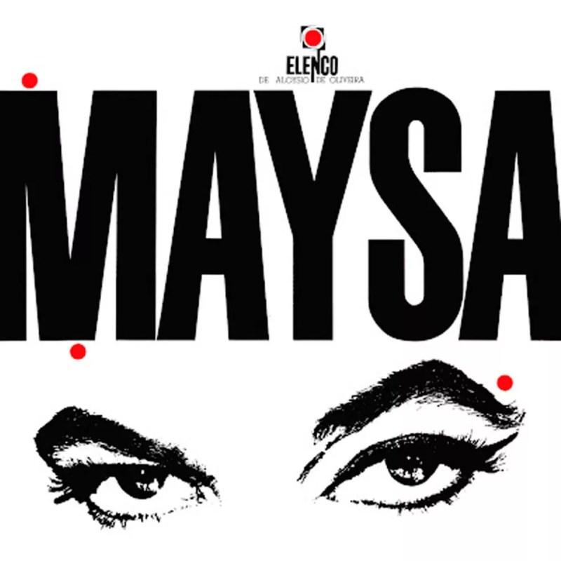 Capa do álbum 'Maysa', de 1964 — Foto: Arte de Cesar G. Villela