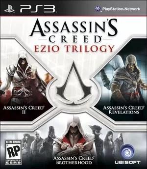 Capa da coleção com trilogia de 'Assassin's Creed' (Foto: Divulgação)
