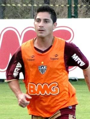 Danilinho no treino do Atlético-MG (Foto: Leonardo Simonini / Globoesporte.com)