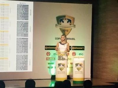 copa do brasil sorteio (Foto: Monique Silva)