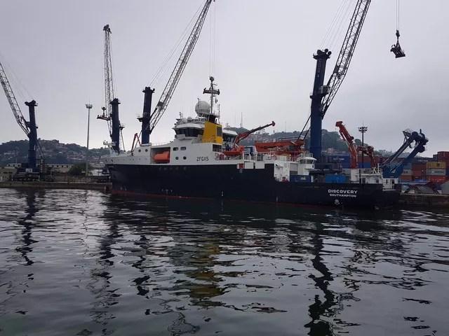 Navio da realeza britânica participa de expedição pela costa brasileira — Foto: Luiz Henrique/Arquivo Pessoal
