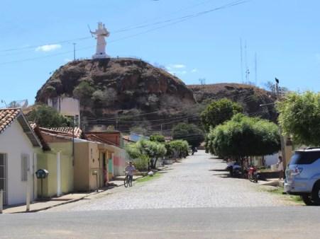 Cidade de Oeiras foi mais uma a ter emergência reconhecida no Piauí (Foto: Patrícia Andrade/G1)