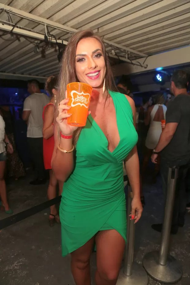 Nicole Bahls (Foto: Reginaldo Teixeira/Divulgação)