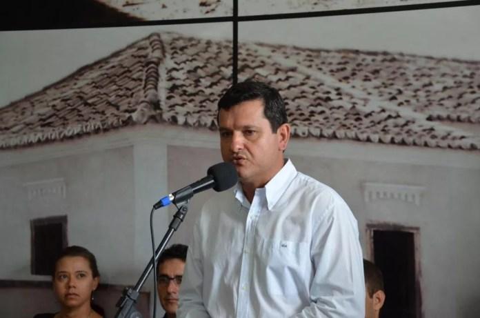 Jairo Magalhães, prefeito de Guanambi, na Bahia (Foto: Divulgação/ Prefeitura de Guanambi)