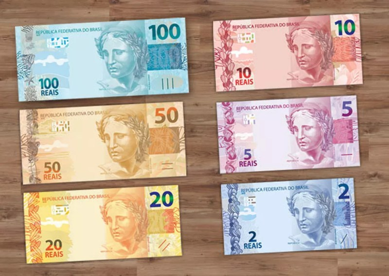 cédulas de real — Foto: Divulgação/Banco Central