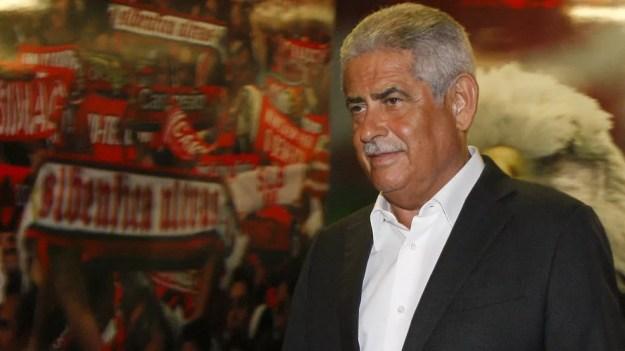 Luís Filipe Vieira é alvo da justiça portuguesa — Foto: Reprodução / Site Oficial