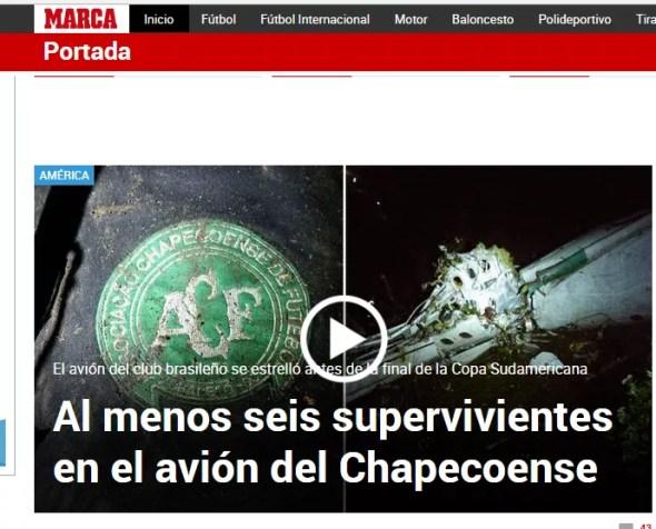 Chape Marca (Foto: Imagem)