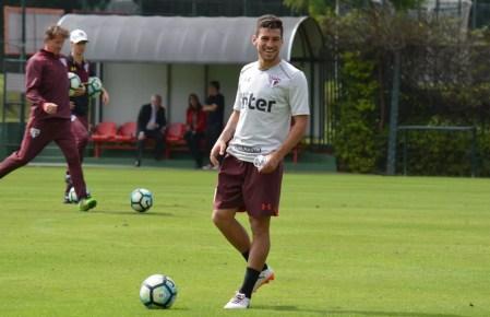 Marcinho disputou 20 partidas na temporada 2017 (Foto: Erico Leonan / site oficial do SPFC)