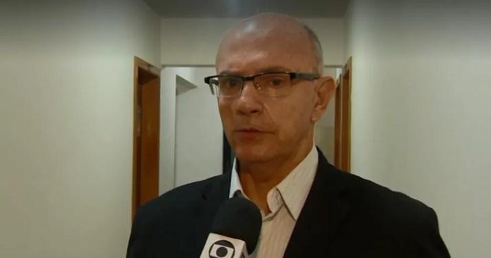 Rogério Portanova é candidato ao governo de Santa Catarina (Foto: Reprodução/NSC TV)