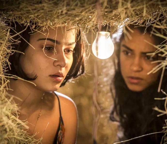 Olívia e Luzia (Foto: Inácio Moraes/Gshow)