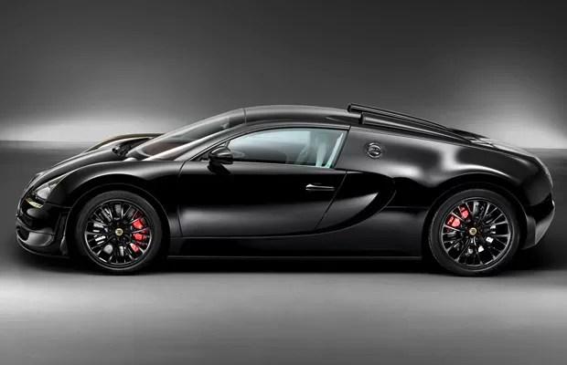 Bugatti Veyron Black Bess (Foto: Divulgação)