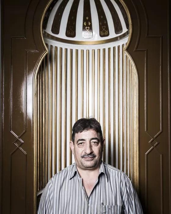 Mohamed Zeinhom Abdiem, presidente da Mesquita da Luz (Foto: Stefano Martini/ÉPOCA)