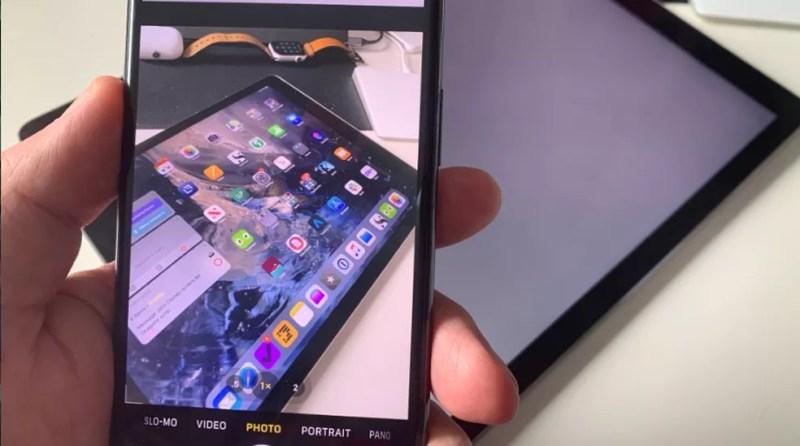 Apple quer usar óculos de realidade aumentada para evitar que curiosos olhem tela do iPhone e iPad — Foto: Reprodução/Apple Insider