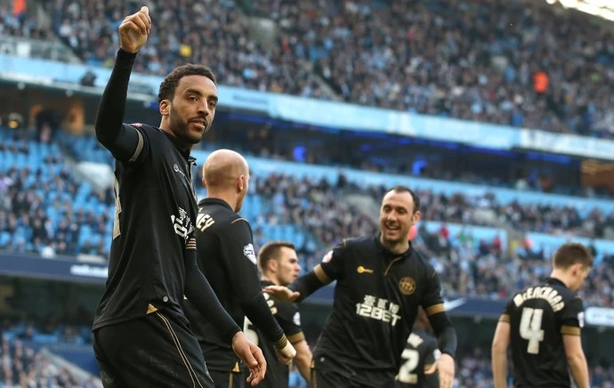 perch manchester city x wigan (Foto: Getty Images)