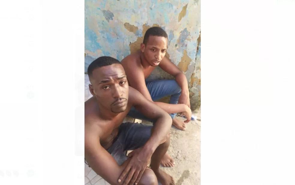 Bruno e Ian Barros foram torturados e mortos a tiros após furtarem carnes em mercado — Foto: Arquivo pessoal