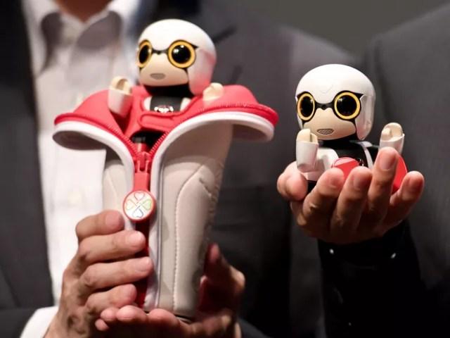 Kirobo Mini será vendido no Japão por cerca de R$ 1,2 mil (Foto: TOSHIFUMI KITAMURA/AFP)