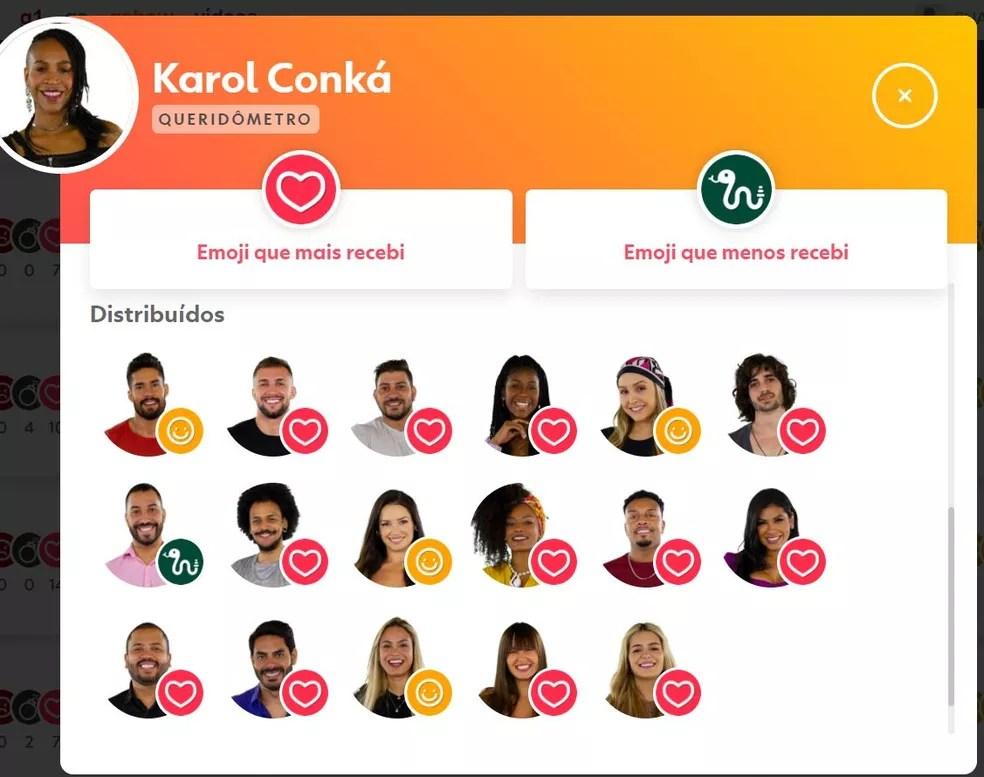 Karol Conká — Foto: Globo