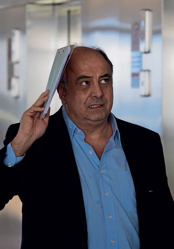Hilberto Mascarenhas,delator (Foto: Jorge William / Agência O Globo)