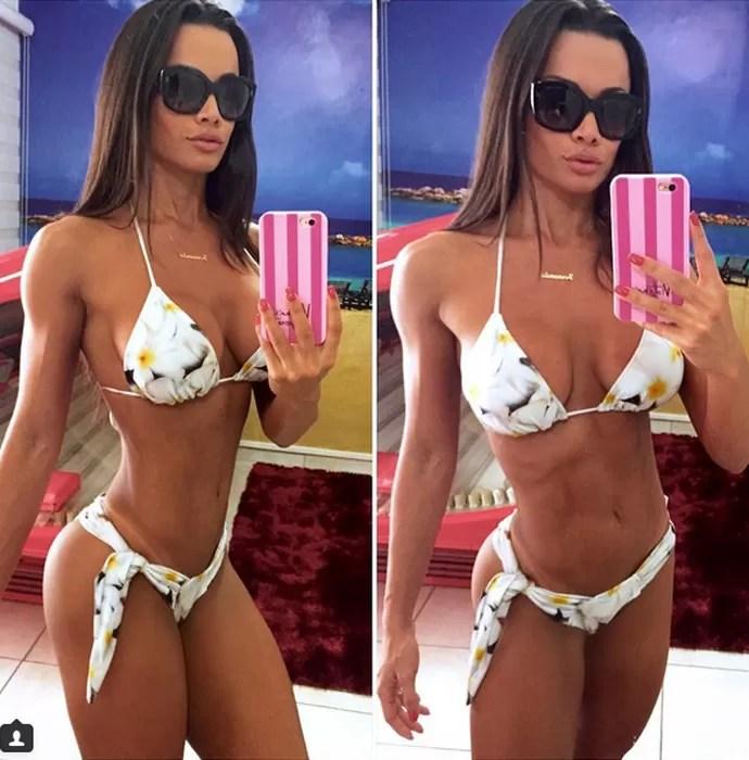 Fernanda D'avila impressiona com o corpo sequíssimo (Foto: Arquivo Pessoal)