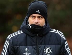 Treino Chelsea Jose Mourinho (Foto: Getty Images)