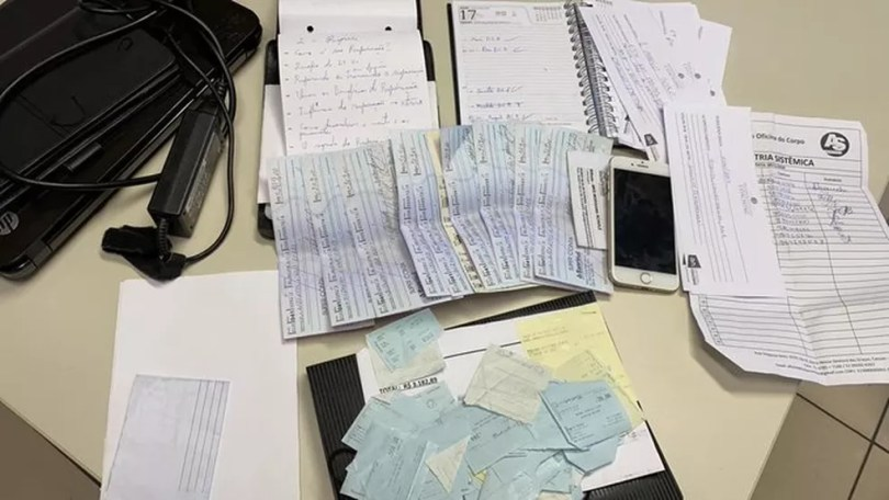 Polícia prendeu terapeuta na manhã desta segunda — Foto: Divulgação/Polícia Civil