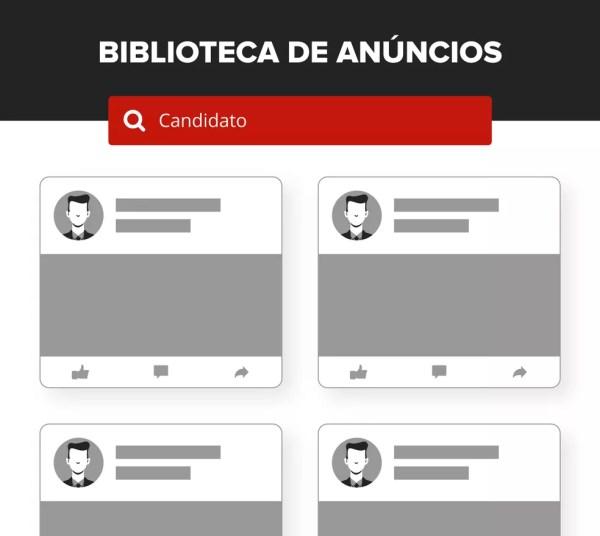 Na Biblioteca de Anúncios criada pelo Facebook, dá para pesquisar todos os posts patrocinados políticos. (Foto: Alexandre Mauro/G1)