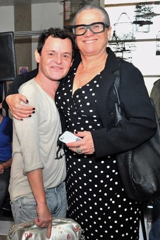 Vera Holtz e Matheus Naschtergaele serão casal em Saramandaia, nova novela da Globo das 11 (Foto: João Miguel JR./Globo)
