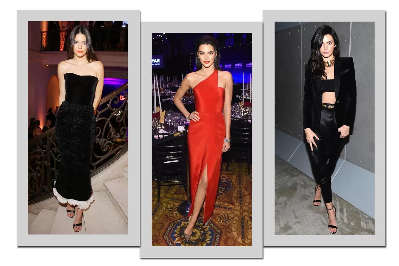 Os melhores looks de Kendall Jenner no red carpet (Foto: Getty Images)