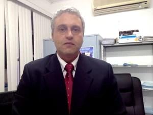 Rogério Voltolini Muñoz, promotor de justiça Acre (Foto: Veriana Ribeiro / G1)
