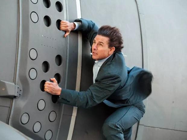Tom Cruise em Missão Impossível: Nação Secreta (Foto: Divulgação)