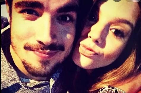 Caio Castro and Giovanna Lancellotti (Photo: Reproduction)