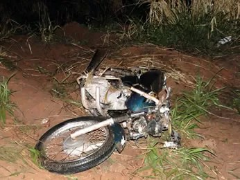 Moto acidente curvelândia MT (Foto: Jaime Ferreira/Revista Portal)