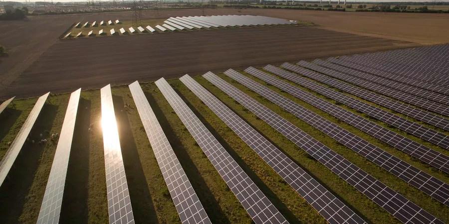 Painéis de energia solar na Alemanha (Foto: Sean Gallup/Getty Images)