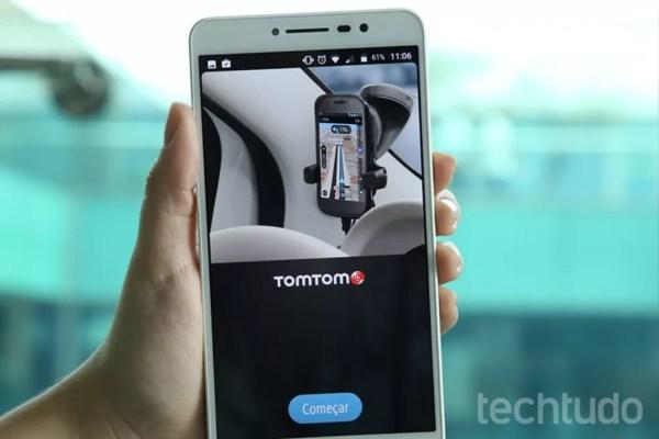 Aprenda a usar o app TomTom Go Brasil (Foto: Carolina Ochsendorf/TechTudo)