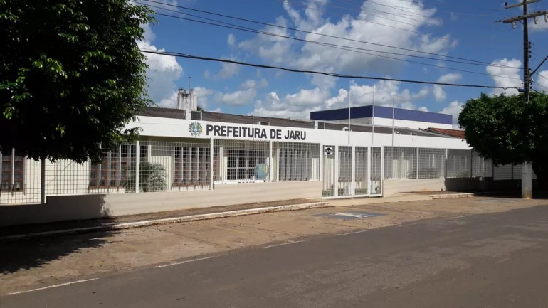 Prefeitura de Jaru — Foto: Rinaldo Moreira/ G1
