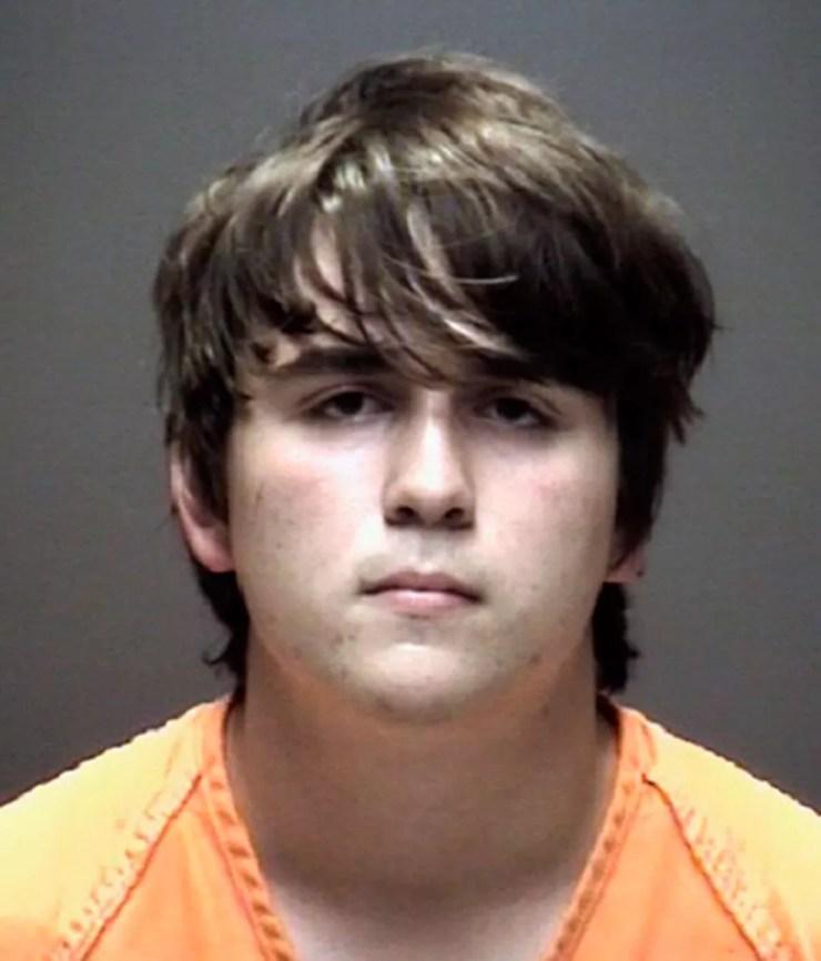 Dimitrios Pagourtzis, suspeito de ser o atirador de escola em Santa Fe, no Texas (Foto: Galveston County Sheriff's Office via AP)