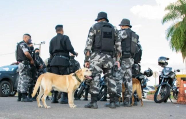 Ações começaram na tarde desta sexta-feira (9) — Foto: Davi Barbosa/Asscom PM-AC