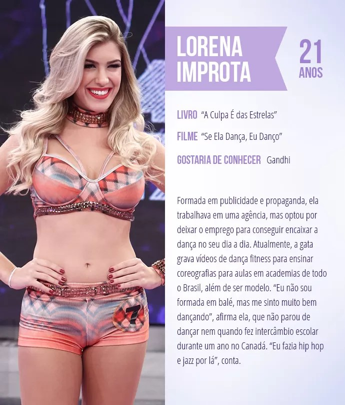 Saiba mais sobre Lorena Improta (Foto: Arte: Thays Malcher)