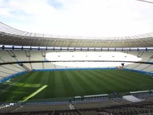 Arena Castelão   (Foto: Juscelino Filho/Globoesporte.com)