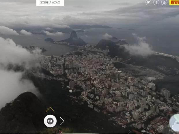 Equipamentos fazem imagens em 360º (Foto: Reprodução / Olhar do Cristo)