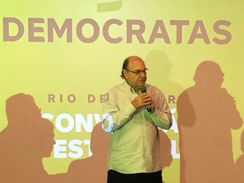 Vereador Cesar Maia foi confirmado candidato do DEM ao Senado (Foto: Bruno Albernaz/G1)
