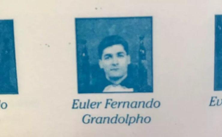 Euler Fernando Grandolpho, de 49 anos, estudou publicidade — Foto: Reprodução